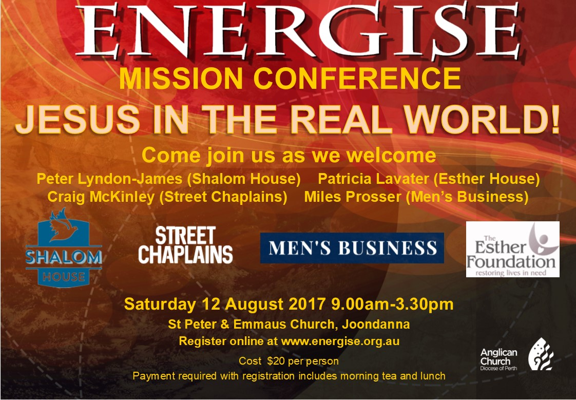 Energise Mission Conference 17